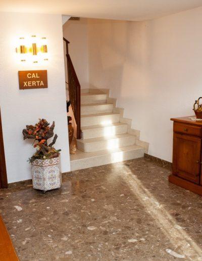 Escales i rebedor de Cal Xerta